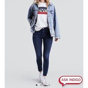 Levi's 720 High rose super skinny jeans